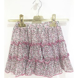 Abbigliamento Bambina Gonne Vicolo 3146G0311 Gonna Bambina FUCSIA/VERDE FUCSIA/VERDE