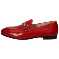 Scarpe Donna Mocassini Triver Flight Mocassino in pelle Rosso Ciliegia Rosso