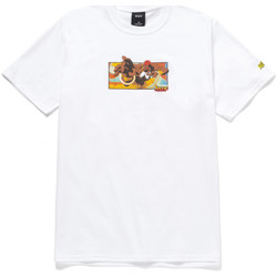 Abbigliamento Uomo T-shirt maniche corte Huf T-shirt dhalsim ss Bianco