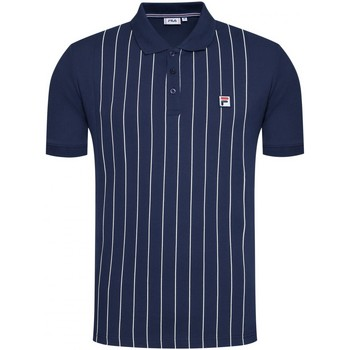 Abbigliamento Uomo Polo maniche corte Fila Polo  Hooper Oversized Shirt 688556 Uomo Blu scuro Blu