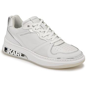 Scarpe Donna Sneakers basse Karl Lagerfeld ELEKTRA LAY UP LO Bianco