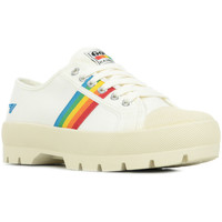 Scarpe Donna Sneakers basse Gola Coaster Peak Rainbow Bianco
