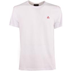 Abbigliamento Uomo T-shirt maniche corte Peuterey PEU4060 99012110-BIAOF Bianco