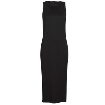 Abbigliamento Donna Abiti corti Karl Lagerfeld KITTED WRAP DRESS Nero