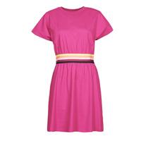 Abbigliamento Donna Abiti corti Karl Lagerfeld LOGO TAPE JERSEY DRESS Rosa