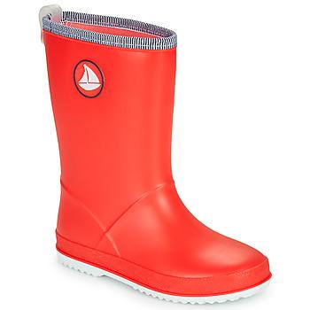 Scarpe Unisex bambino Stivali da pioggia Be Only CORVETTE Rosso