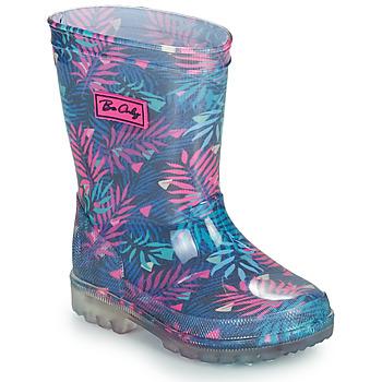 Scarpe Bambina Stivali da pioggia Be Only BINTOU Blu / Rosa