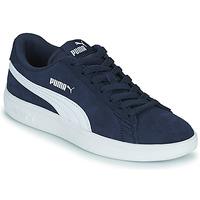 Scarpe Unisex bambino Sneakers basse Puma SMASH JR Blu
