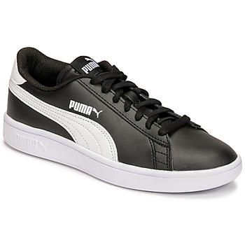 Scarpe Unisex bambino Sneakers basse Puma SMASH JR Nero