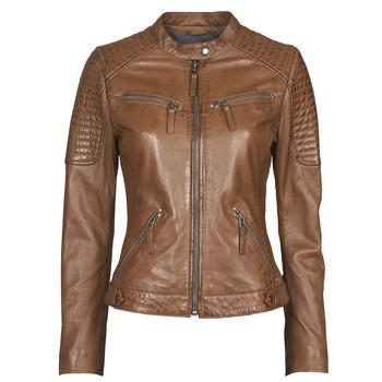 Abbigliamento Donna Giacca in cuoio / simil cuoio Oakwood HILLS6 Cognac