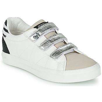 Scarpe Donna Sneakers basse Le Temps des Cerises VIC Bianco / Argento