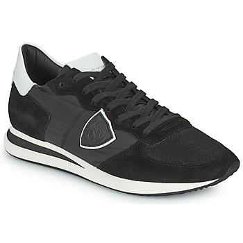 Scarpe Uomo Sneakers basse Philippe Model TRPX LOW BASIC Nero