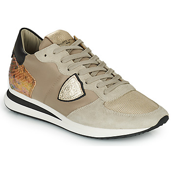 Scarpe Donna Sneakers basse Philippe Model TRPX LOW WOMAN Taupe