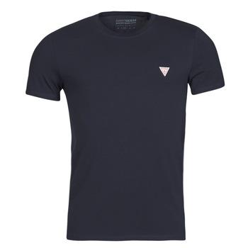 Abbigliamento Uomo T-shirt maniche corte Guess CN SS CORE TEE Marine