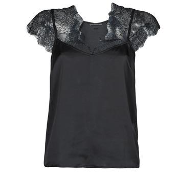 Abbigliamento Donna Top / Blusa Guess SS MIRANDA TOP Nero