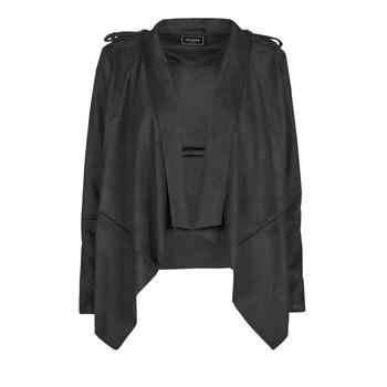 Abbigliamento Donna Giacca in cuoio / simil cuoio Guess SOFIA JACKET Nero