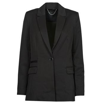 Abbigliamento Donna Giacche / Blazer Guess AIDA JACKET Nero