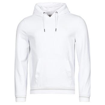 Abbigliamento Uomo Felpe Guess CHRISTIAN HOODIE FLEECE Bianco