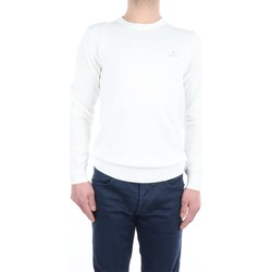 Abbigliamento Uomo Maglioni Gant 2101.8030521 Girocollo Uomo Eggshell Eggshell