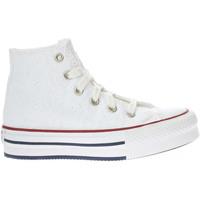 Scarpe Bambina Sneakers alte Converse 671104C-UNICA - CHUCK TAYLOR A  Bianco