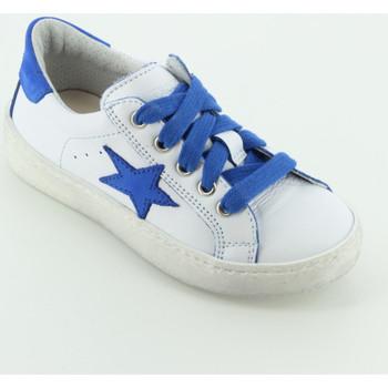 Scarpe Bambino Sneakers basse Let Me Be 9841 sneaker bassa stella Bianco