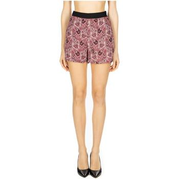 Abbigliamento Donna Shorts / Bermuda GaËlle Paris SHORT CON TASCHE rosa
