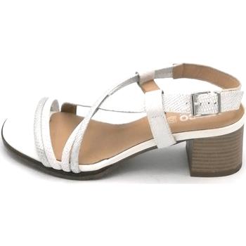 Scarpe Donna Sandali IgI&CO 7839100 Bianco-argento