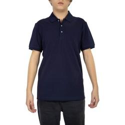 Abbigliamento Uomo Polo maniche corte Navigare NV82108-454 Blu