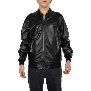 Abbigliamento Uomo giacca a vento Emanuele Curci CASTRO-NERO Nero