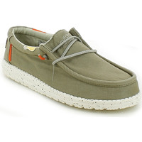 Scarpe Uomo Mocassini Hey Dude WALLYWASHEDE21.26_40 VERDE