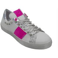 Scarpe Donna Sneakers basse Angela Calzature ANS23Bfuxia bianco