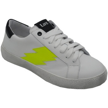 Scarpe Donna Sneakers basse Angela Calzature ANS23Ffluo bianco
