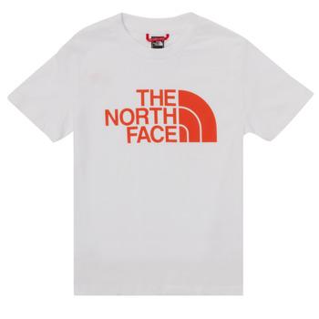 Abbigliamento Bambino T-shirt maniche corte The North Face EASY TEE SS Bianco