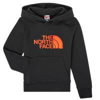Abbigliamento Bambino Felpe The North Face DREW PEAK HOODIE Nero