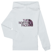 Abbigliamento Bambina Felpe The North Face DREW PEAK HOODIE Bianco