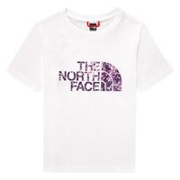 Abbigliamento Bambina T-shirt maniche corte The North Face EASY BOY TEE Bianco