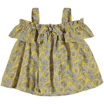 Abbigliamento Bambina Top / T-shirt senza maniche Mayoral ATRMPN-26122 Giallo