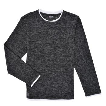 Abbigliamento Bambino T-shirts a maniche lunghe Deeluxe MONAN Nero