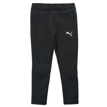 Abbigliamento Bambino Pantaloni da tuta Puma EVOSTRIPE PANT Nero
