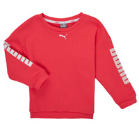 Abbigliamento Bambina Felpe Puma ALPHA CREW SWEAT Rosa