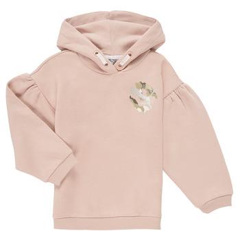 Abbigliamento Bambina Felpe Puma ALPHA HOODIE Rosa