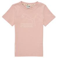 Abbigliamento Bambina T-shirt maniche corte Puma T4C TEE Rosa