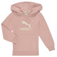 Abbigliamento Bambina Felpe Puma T4C HOODIE Rosa