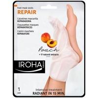Bellezza Trattamento mani e piedi Iroha Nature Peach Foot Mask Socks Repair