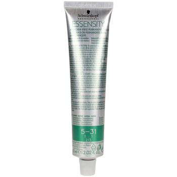 Bellezza Accessori per capelli Schwarzkopf Essensity Ammonia-free Permanent Color 5-31  60 ml