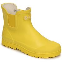 Scarpe Unisex bambino Stivali da pioggia Aigle CHELSEA 2 Giallo