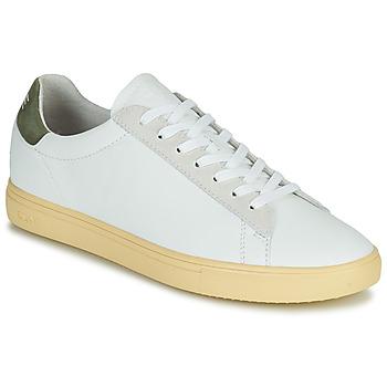 Scarpe Uomo Sneakers basse Clae BRADLEY CALIFORNIA Bianco / Verde
