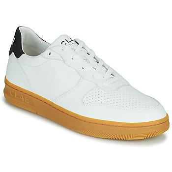 Scarpe Uomo Sneakers basse Clae MALONE VEGAN Bianco / Blu