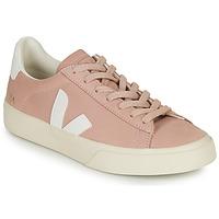 Scarpe Donna Sneakers basse Veja CAMPO Rosa / Bianco