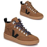 Scarpe Sneakers alte Veja RORAIMA Camel / Nero